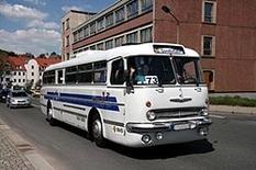 Ikarus Reisebus in Ungarn